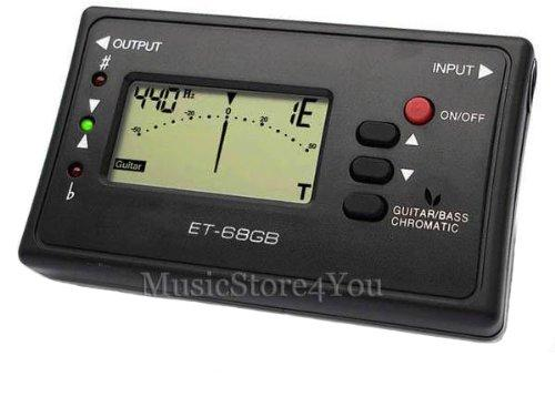 Annong ENO ET-68GB LED Digital Electronic Acoustic Bass Guitar Chromatic Tuner with Mic