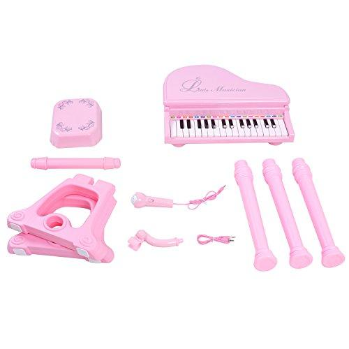 ANTAPRCIS Large Piano Toys with Stool for Girls - 31 Keys Electronic