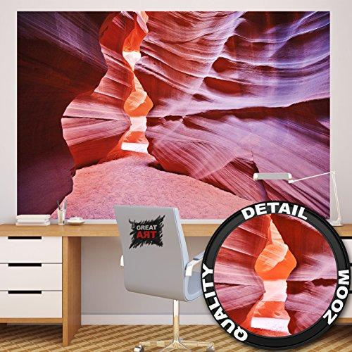 antelope canyon photo wall paper slot canyon mural xxl. Black Bedroom Furniture Sets. Home Design Ideas