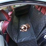 Aolvo Dog Cooling Pad/Mat/Bed for Car Seat Pet Car Seat Covers Extra Large Size with Seat Belt for Dogs & Cats - Waterproof, Non-Toxic, Non-Slip, Anti-Scratch - Seat Covers for Cars, Trucks, and SUV