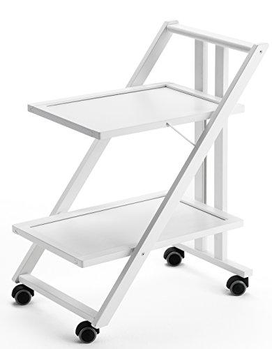 Arredamenti Italia AR_IT- 575 SIMPATY serving trolley finishing white.
