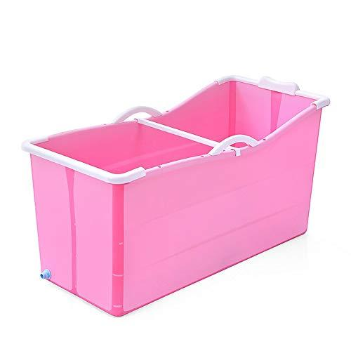 Arrobin Khan JL ZB Adult Folding Bath Barrel Bath Barrel Bath Barrel Plastic Baby Bathtub Home Bath Tub A+ (color : A)