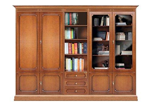 Arteferretto Wall unit with glass doors and shelves