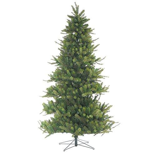 Artplants Artificial Fir tree SYDNEY, green, 8ft/230cm, Ø5ft/150cm - Christmas decoration/Fake Xmas tree