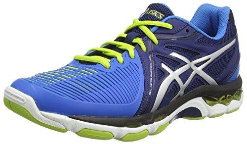ASICS Gel-Netburner Ballistic, Men's Volleyball Shoes, Blue (Navy/Silver/Electric Blue-5093), 6 UK (40 EU)