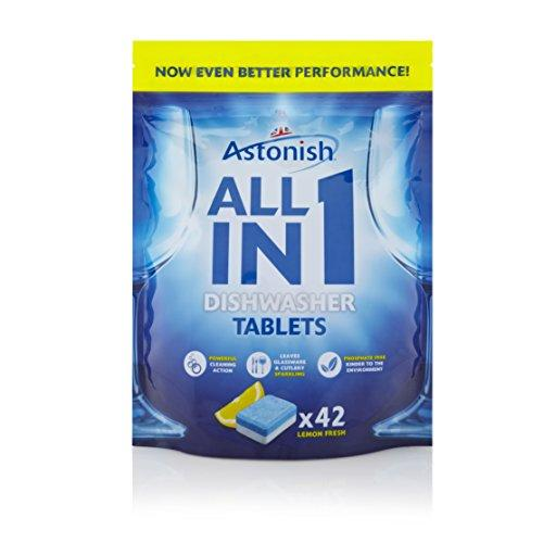 Astonish Dishwasher Tablets (42) (Pack of 2)