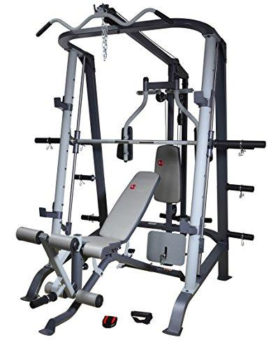 AsVIVA MS2 Professional Multigym, Weight Bench, Workstation and Home Gym for a Full Body Workout – Arm & Leg Training for your Home