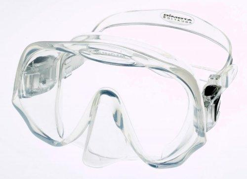 Atomic Aquatics Frameless Mask for Scuba Diving and Snorkeling, Clear, Standard Fit by Atomic