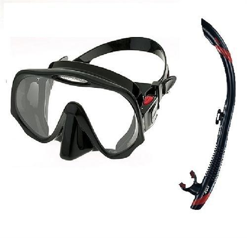 Atomic Frame less and SV2 Snorkel Diving Mask