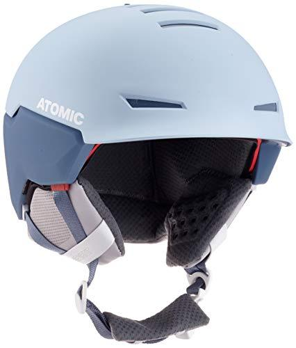 ATOMIC Mountain Ski Helmet, Complies with Safety Standards, Revent+ AMID, Head Size 51-55 cm, Blue Ciel, Small