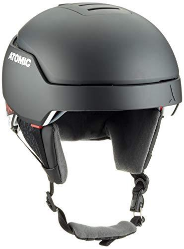 ATOMIC Mountain Ski Helmet, Count AMID, Head Size 59-63 cm, Black, Large