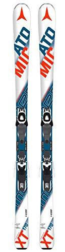 ATOMIC pERFORMER xT fIBRE avec batterie lITHIUM 10 fixations skis all mountain white-blue-red