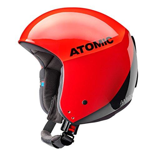 Atomic Racing Ski Helmet - Red/Black, Size XL