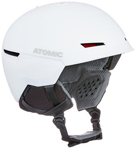 Atomic Unisex's Mountain Ski Helmet, Revent+, Live Fit, Head Size 59-63 cm, White, Large