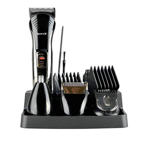 Atongham 7 in 1 Rechargeable Electric Haircut Machine for Man Professional Hair Clipper Cordless Electric Hair Trimmer