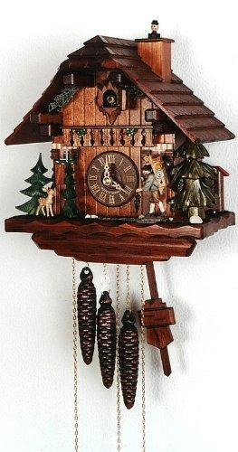 August Schwer Cuckoo Clock Clock Carrier, Fawn