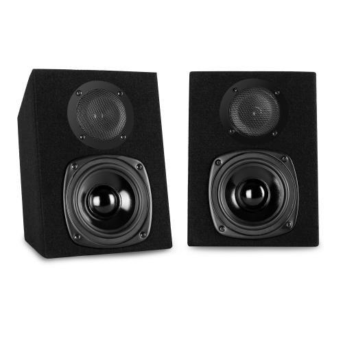 Auna ST-200 Pair of Two-Way Passive speakers 40W RMS, 2 PA speakers, 2 x 13 cm Subwoofers