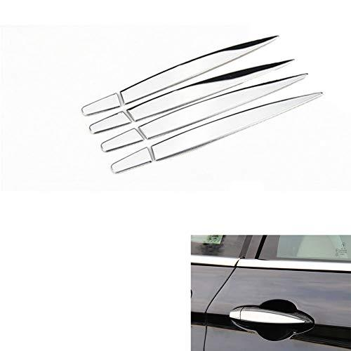 AUTO Pro for BMW 1 Series/2 Series Touring Car/X5/X1 Stainless Steel Car 8 Pieces Exterior Door Handle Trim Sticker Sequin Accessories,