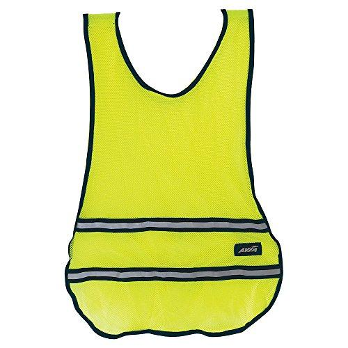 AVIA Fitness High Visibility Safety Runner's Vest - Yellow (Available in more Colors)