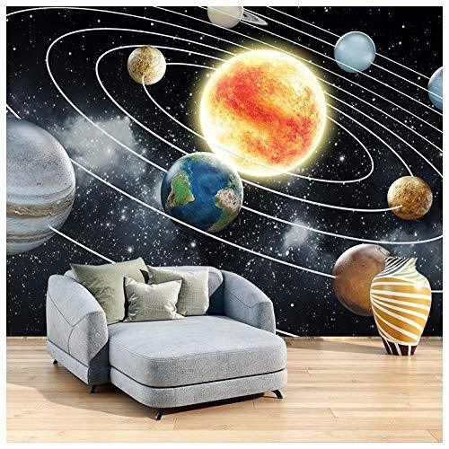 azutura Space Wall Mural Planets Solar System Photo Wallpaper Kids Bedroom Home Decor available in 8 Sizes Small Digital