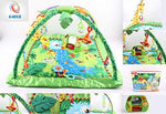 Baby Boy Girl Baby Play Mobile Jungle Safari Animals Gym Mat Lights & Music Activity Centre Birthday Xmas UK