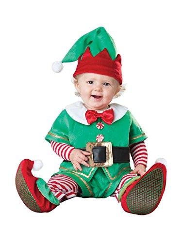 Baby Deluxe Santa's Lil' Elf Baby Fancy Dress Christmas Costume