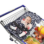 Baby Shopping Cart Hammock, ANSUG Creative Foldable Shopping Malls Pushcart Cushion Bed Hammock Safe Travel and Portable