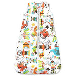 Baby Sleeping Bag, Circus Time, Kiddy Kaboosh Various Sizes, Medium Weight, 2.5 Tog, Size 12-36 Months, Cosy & Safe, Perfect Presents, Machine washable