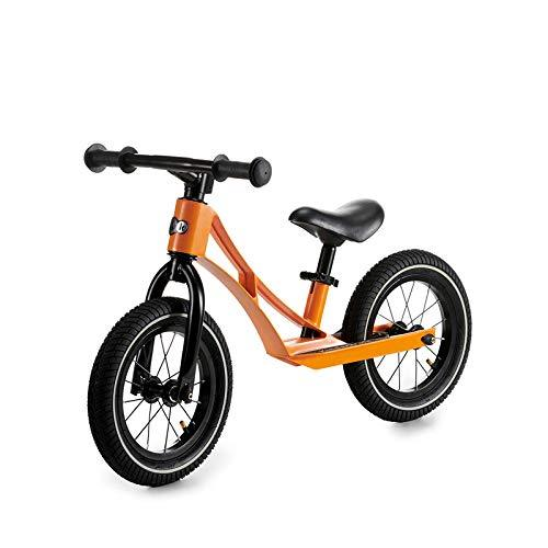 Balance Bike,Children'S Balance Car Baby Toddler Two-Wheeled Bicycle Men Women 2-6 Years Old,Orange