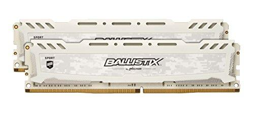 Ballistix BLS2K16G4D26BFSC 32 GB Kit (16 GB x 2) DDR4 2666 MT/s (PC4-21300) CL16 DR x 8 Unbuffered DIMM 288-Pin Memory