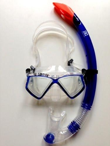 Balzer Picco Snorkelling set for children and teenagers, Blue