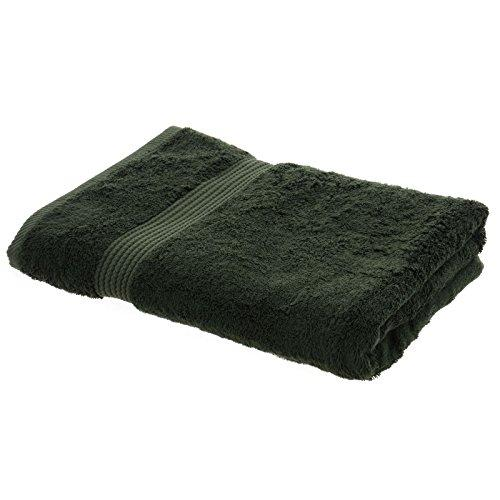 Bamboo Bliss Forest Green Bamboo Luxury Bath Sheet Plush Soft Bathroom Bath Linen Large Towel 90 x 165cm