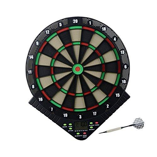Banana Heaven Electronic dartboard • Electronic darts machine •18 game modes • 157 game variants • LED indicators • Soft tip • Voice prompt