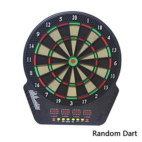 Banana Heaven Electronic dartboard • Electronic darts machine •6 electronic darts, 24 soft darts •18 inch Target • 4 screen electronic dart board for 1-16 players