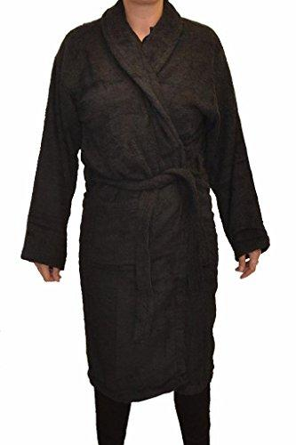 Bang Tidy Clothing Women's Personalised Bathrobes Luxury Dressing Gowns Gifts Black Small/Medium