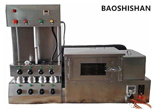 BAOSHISHAN Commercial Pizza Cone Forming Maker Making Machine with Rotational Pizza Oven (220V)