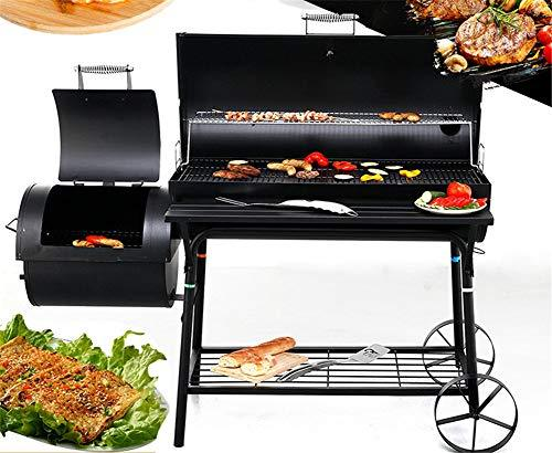 Barbecue Grill Charcoal Portable Smoker Barbecues Bbq Outdoor Party Camping Foldable,small