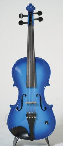 Barcus-Berry Vibrato-AE Series 4/4-Size Acoustic Electric Violin - Barcus-Berry Blue Color