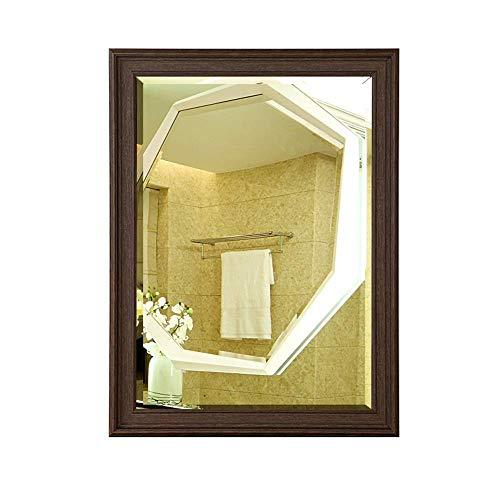 BATHROOM MIRROR HOME Explosion-Proof Mirror Wall Hanging Dressing Table Waterproof Toilet Mirror Makeup Mirror 5MM HD Silver Mirror