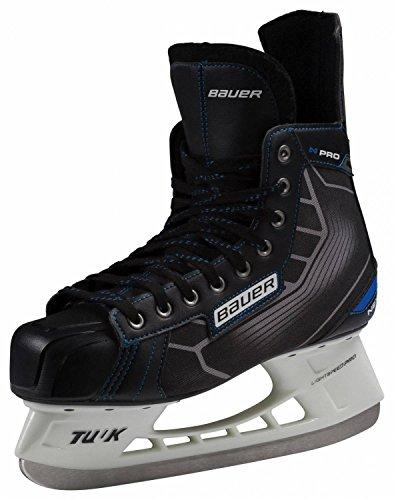 Bauer Nexus Pro Skateboard Complete Men's Ice Hockey Skates Ice Skates Black/Blue 12.5