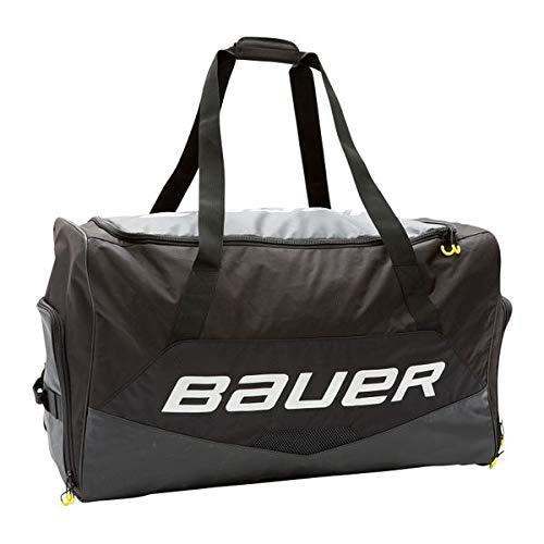 Bauer S19 PREMIUM WHEEL GOAL SR Black Hockey Goalie Bag