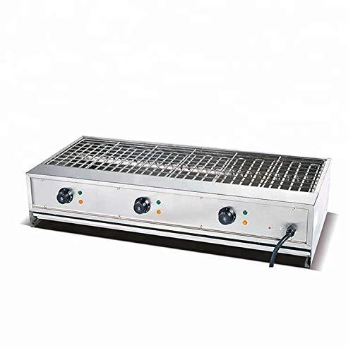 B&C EB-110B Table top Portable Commercial Barbecue Grill Electric Smokeless Oven