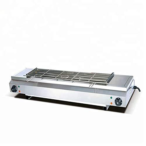 B&C EB-220 Commercial Table Top Staninless Steel Electric BBQ Stove Barbecue Grills Machine