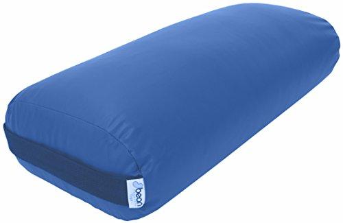 Bean Products Yoga Bolster - Vinyl Rectangle - Royal Blue
