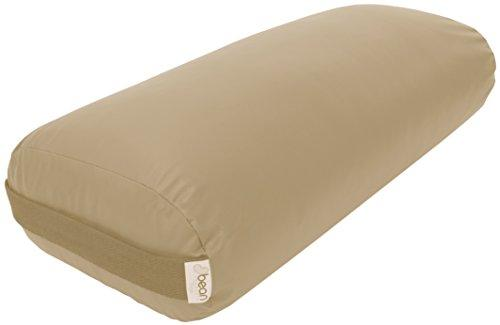 Bean Products Yoga Bolster - Vinyl Rectangle - Tan