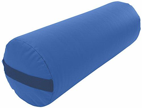 Bean Products Yoga Bolster - Vinyl Round - Royal Blue