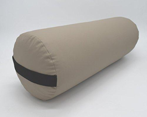 Bean Products Yoga Bolster - Vinyl Round - Tan