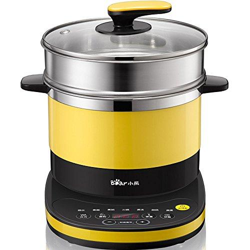 Bear 3.2L Portable Mini Electric Pot Kettle Cooker for Cooking Soup Rice and Steamed Food DRG-C18Q6