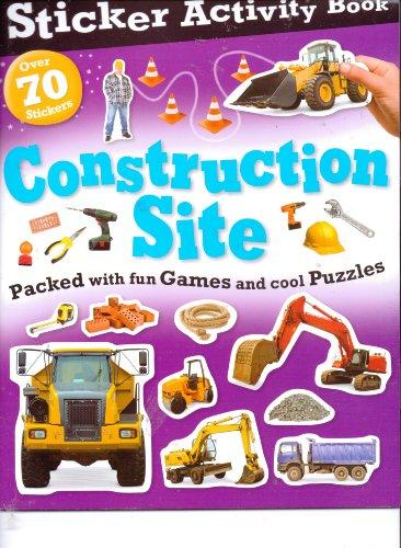 Beaver Books Construction Site Sticker Activity Book (Over 70 Stickers)