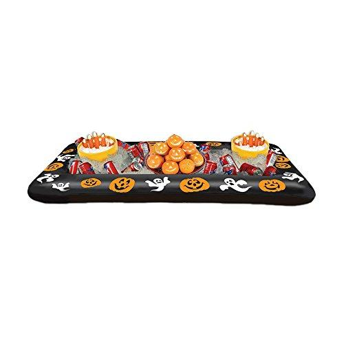 "Beistle Inflatable Halloween Buffet Cooler 28"" W X 4' 5 3/4"" L - Pack of 6 (1/Pkg)"